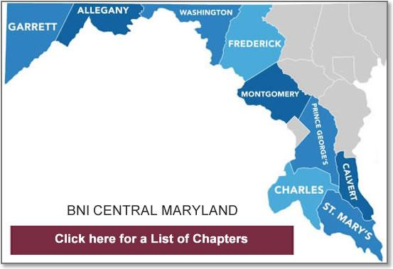 BNI Central Maryland chapters